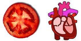 домат сърце