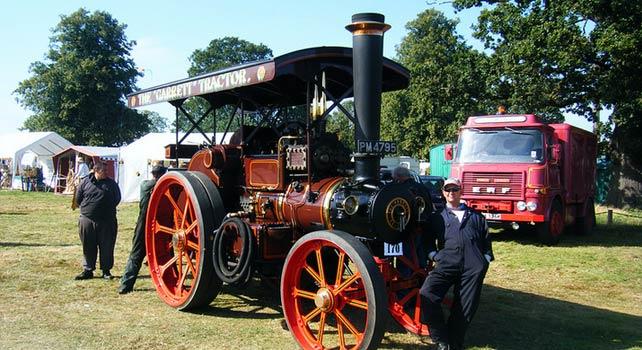 Трактор Garrett-4CD