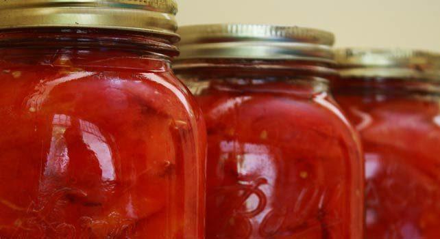 Консерви домати