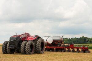 Трактор с автопилот