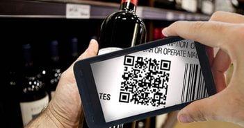QR код вино