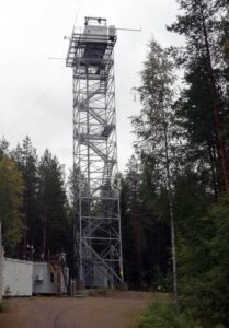 Гори Hyytiala Forestry Field Station