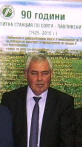 Георги Георгиев, директор Опитна станция по соята Павликени