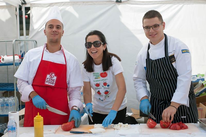 Фестивал на розовия домат МЕТРО