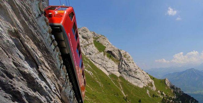 Забранената планина Пилатус и най-стръмната планинска железница в света