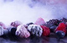 Замразени плодове хладилна камера