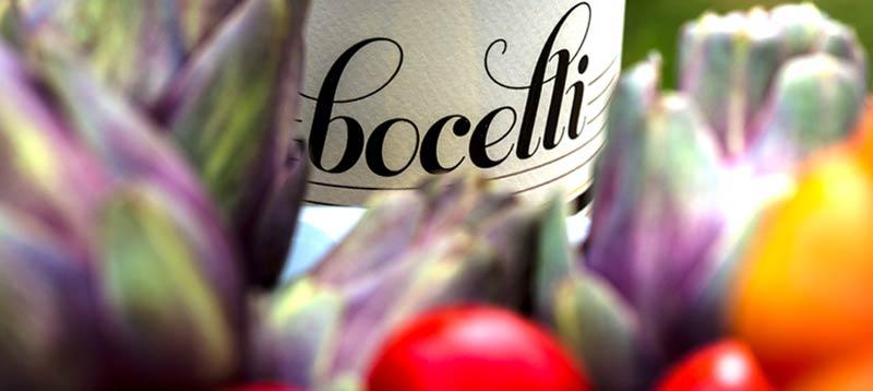 Андреа Бочели лозя вино
