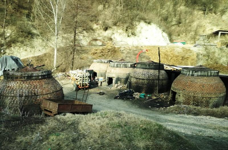 Пещи за дървени въглища