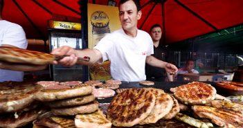 Рощилиада Фестивал на сръбската скара в Лесковац