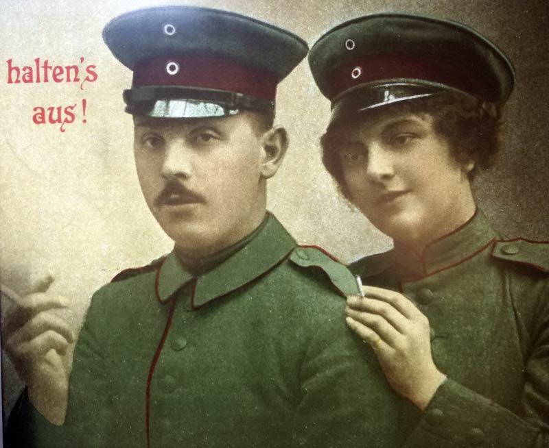 Немска пропагандна картичка