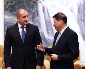 Румен Радев кмет на Шанхай