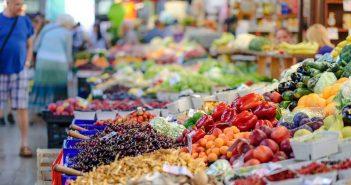Пазар плодове и зеленчуци