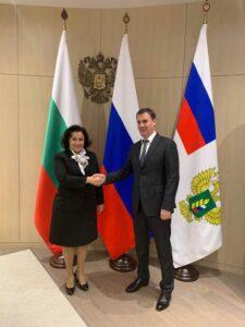 Десислава Танева и Дмитрий Патрушев