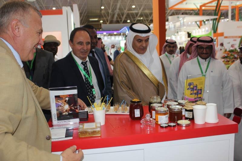Изложба Saudi Agro Food български щанд