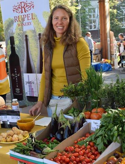 Катрин Цанев фермерски пазар