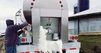 Изхвърляне на мляко