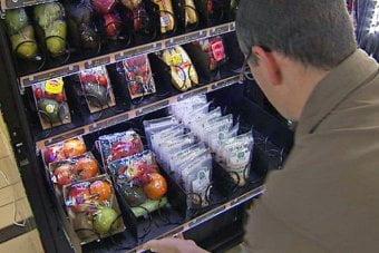 Вендинг автомати за плодове