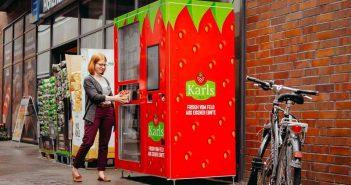 Вендинг автомат за ягоди