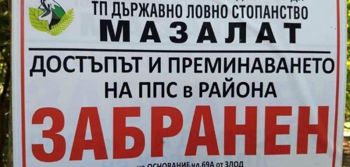 Българските гори са феодализирани от ловни олигарси